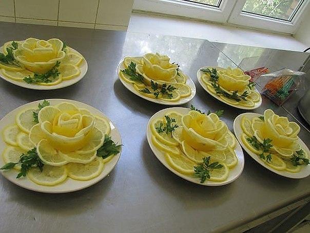 украшения салатов своими руками и фото