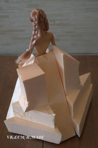 Как сделать коробку с конфетами для кукол