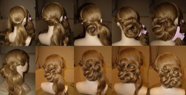 Причёски на бал для девочек