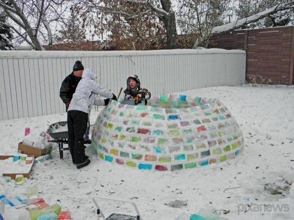 Как сделать дома снег своими руками