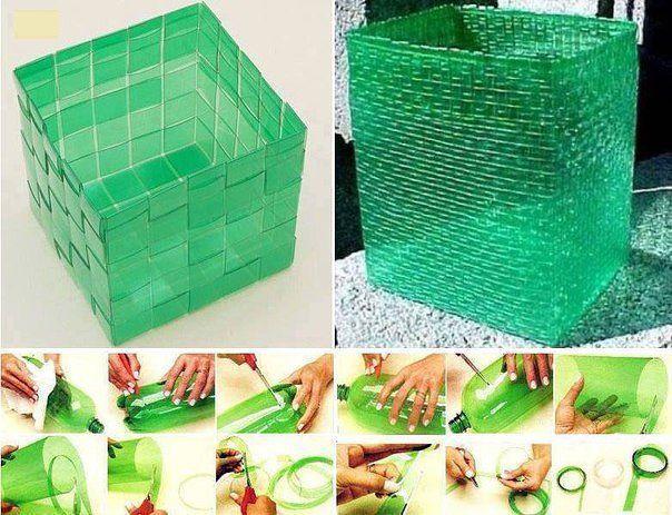 Что сделать из пластиковых бутылок своими руками