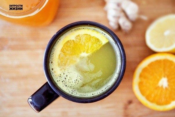 Чай имбирный с лимоном рецепт