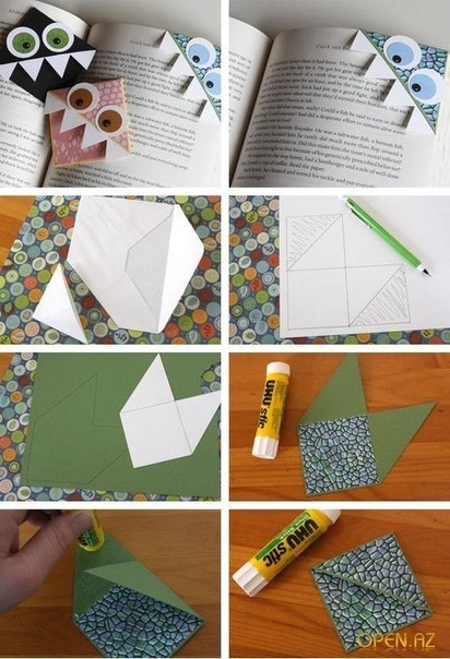 Как сделать закладка для личного дневника