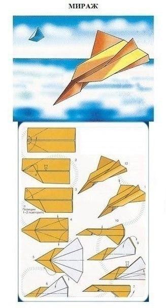 Как сделать хороший летающий самолетик