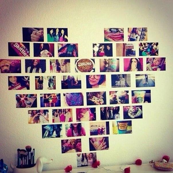 Как сделать коллаж на стену из фото