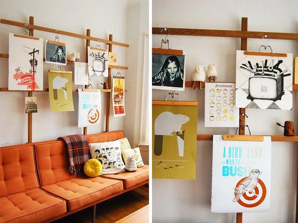 Как сделать рамки чтобы повесить на стену