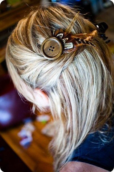 Заколки для волос как сделать самой