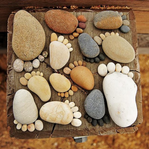 Поделки своими руками с камнями фото