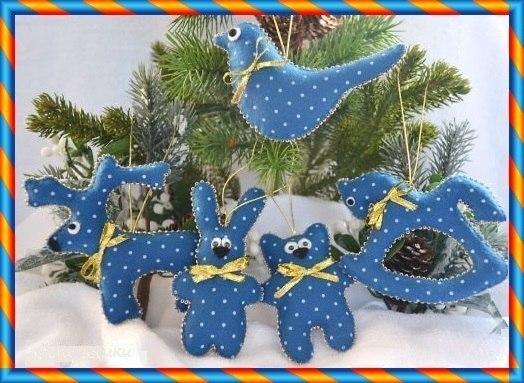Поделки для нового года игрушки на елку