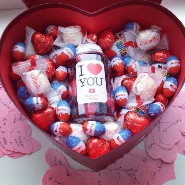Подарок сладкий для девушки