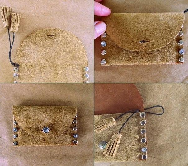Как сделать клатч из старой сумки своими руками