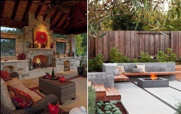 Как сделать красивым и уютным двор при частном доме