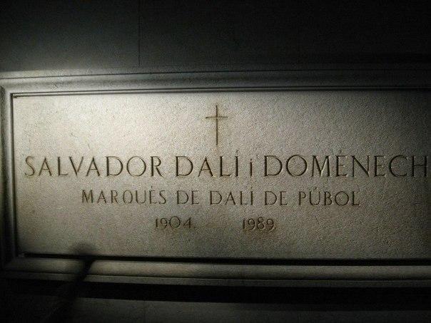 где захоронено тело сальвадора дали согласно его завещанию исключением