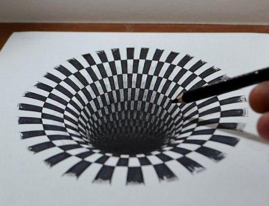 Иллюзии на бумаге как сделать