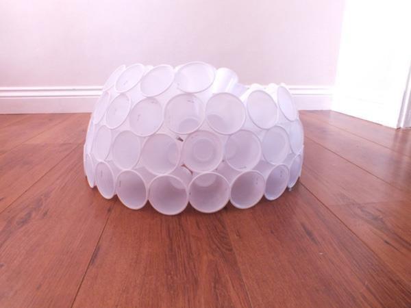 Поделки снеговика из пластиковых стаканчиков своими руками