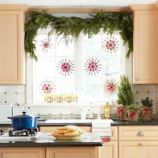 Чем украсить кухню фото
