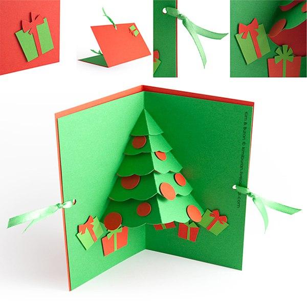 Поделки открытки своими руками к новому году
