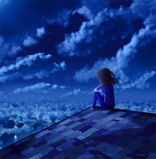 Я люблю мечтать и смотреть