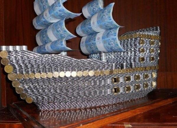 Поделки из 10 копеечных монет своими руками 58