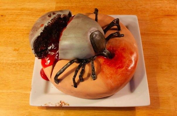 фото страшных и смешных тортов
