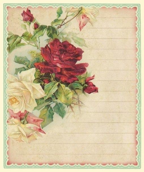 Винтажные картинки для открыток скрапбукинг 166