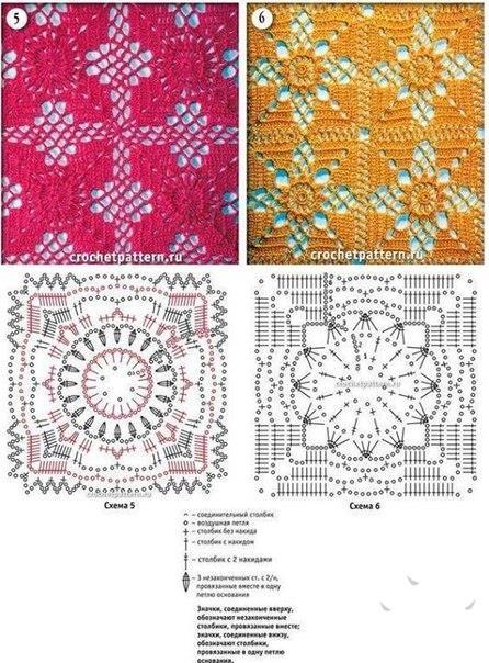 Красивые схем по вязанию