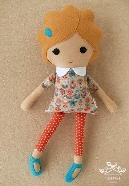 Сшить куклу простую своими руками