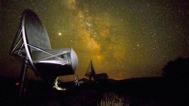Получены новые радиосигналы, пришедшие из далёкой галактики.