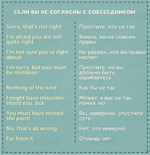 50 фраз на английском для