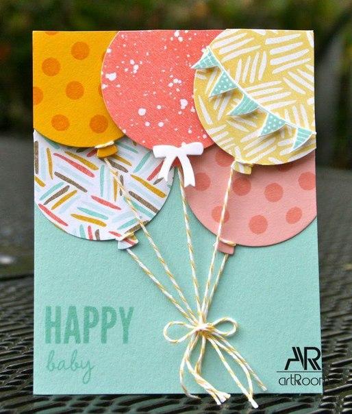 Как делать открытки с днём рождения своими руками