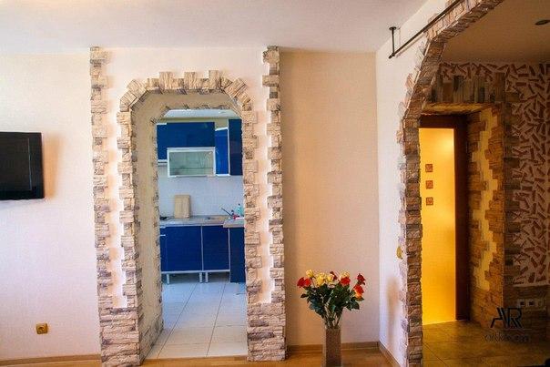 Как красиво оформить дверной проем без двери своими руками фото 82
