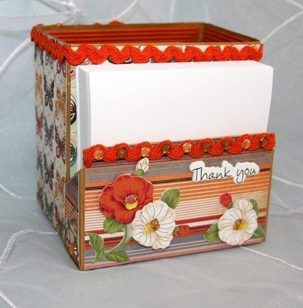 Чайная коробочка своими руками
