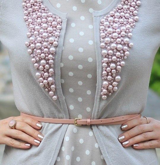 Украшение платьев своими руками