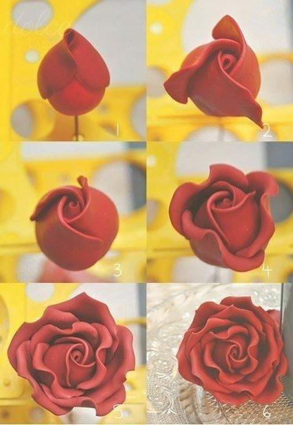 Мастер класс по лепке розы - Теплостолица