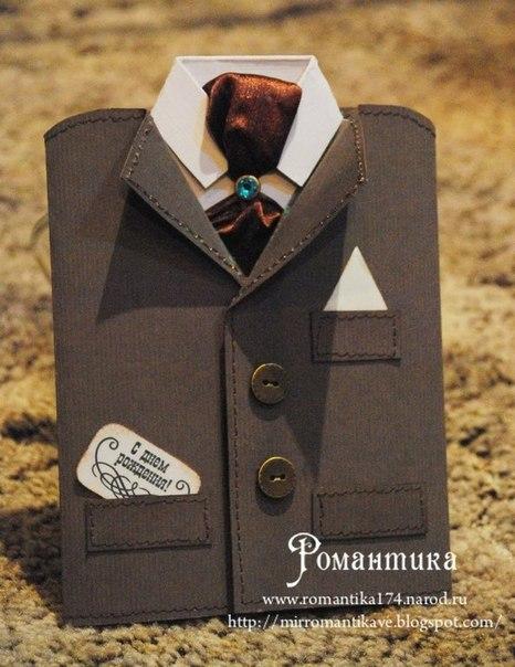 Открытка для мужчин галстук 787