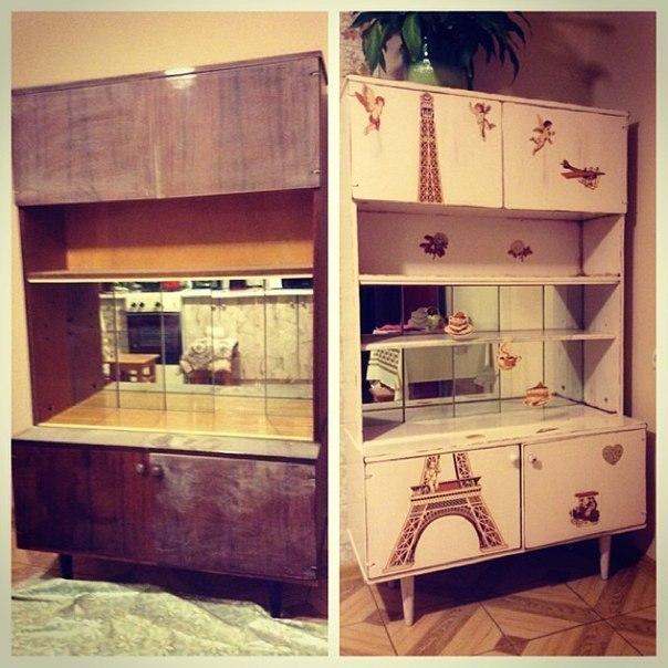 Обновить старую мебель своими руками фото до