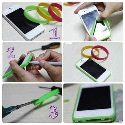 Как сделать своими руками красивый чехол на телефон