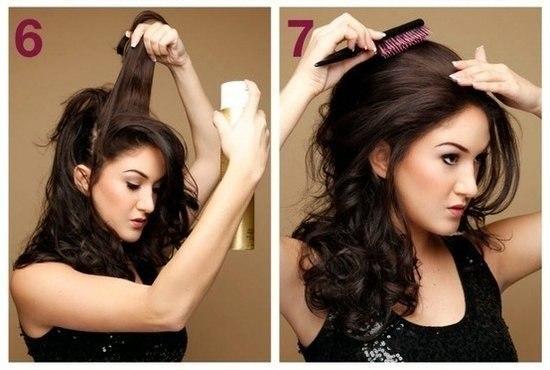 Прически своими руками на вечер на длинные волосы