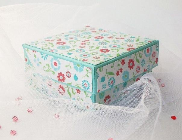 Как сделать подарочные коробочки своими руками фото