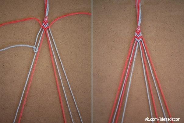 Как сделать фенечки из своего рука