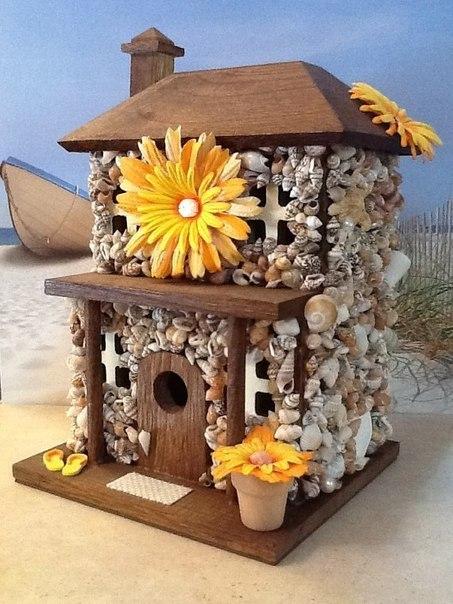 Дом из ракушек своими руками