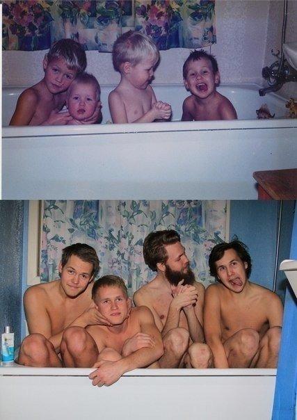 голые семейное фото видео