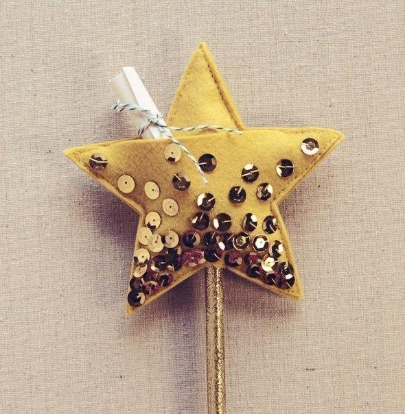 Как сделать звезду на палочку
